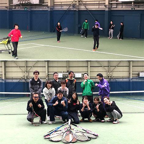 第12回 テニス部活動