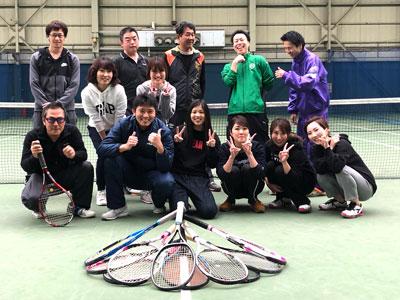 テニス部活動風景2