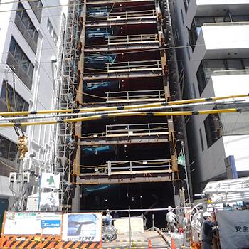 (仮称)中央区南船場2丁目新築工事