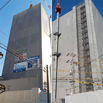 (仮称)プレサンスロジェ都島本通4丁目EAST/WEST新築工事