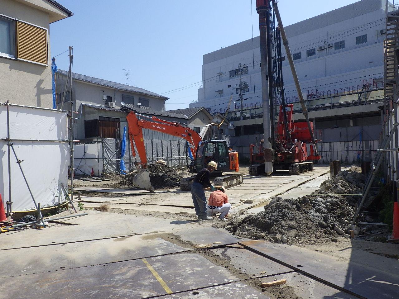 (仮称)グランドパレス河内長野駅前新築工事