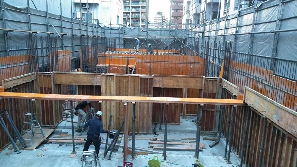 (仮称)プレサンス島之内二丁目新築工事